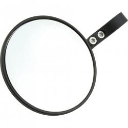 SHIN YO lusterko końcowe PONZA czarne, okrągłe, jednoczęściowe