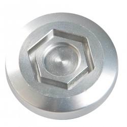 Korek wlewu oleju, aluminium