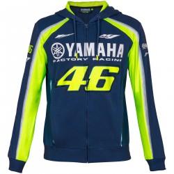 VR46 Yamaha bluza z kapturem męska