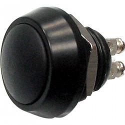 Przycisk aluminiowy, czarny