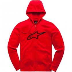 Alpinestars Ageless II bluza z kapturem czerwona
