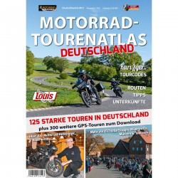 Motocykl Tour Atlas Niemcy,...