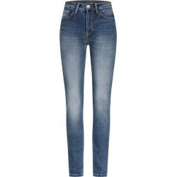 ROKKER ROKKERTECH spodnie damskie jeansowe z wysokim stanem