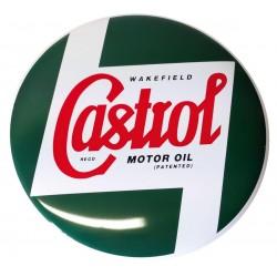 Metalowy znaczek dla motocyklisty CASTROL
