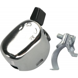 Włącznik kierunkowskazów chromowany