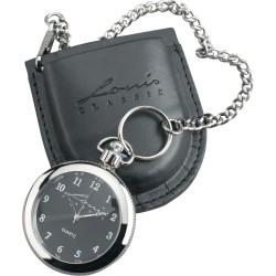 Zegarek dla motocyklisty LOUIS CLASSIC ze skórzanym etui