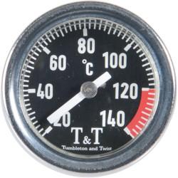 Wskaźnik temperatury oleju T&T do Honda XL/CB/CBF/CBR/VTR/VT , Kawasaki Z , Yamaha XT/WR , Ducati 848/1199/696 , Triumph