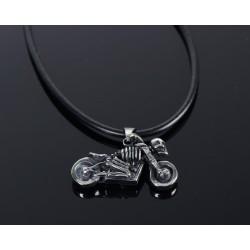 Naszyjnik dla motocyklisty BIKE SKULL