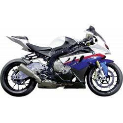 Model motocykla BMW S 1000 RR, skala 1:12
