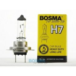 Żarówka BOSMA 55W PX26D H7 LONG LIFE HEAVY DUTY