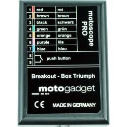 Port przyłączeniowy  MOTOGADGET Breakout Box