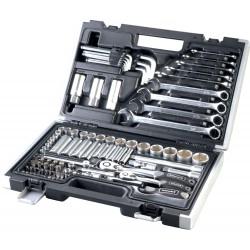 ROTHEWALD  92-częściowy zestaw kluczy calowych