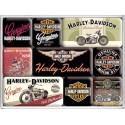 HARLEY DAVIDSON GENUINE Magnesy na lodówkę  dla motocyklisty