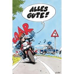 Kartka pocztowa MOTOMANIA dla motocyklisty