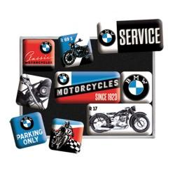 Magnesy na lodówkę BMW dla motocyklisty