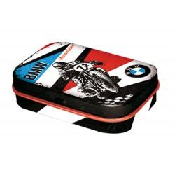 Miętówki w blaszanym pudełku dla motocyklisty BMW
