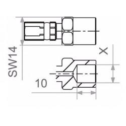 TRW Vario MVH100 Połączenie śrubowe