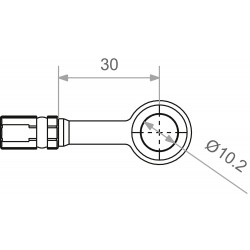 TRW Vario MV10A00 Połączenie śrubowe