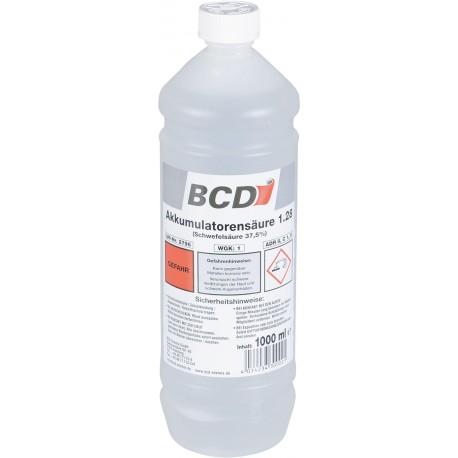 Elektrolit do akumulatorów BCD