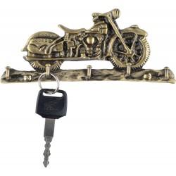 Wieszak na klucze motocyklisty
