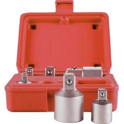 Zestaw adapterów do kluczy nasadowych ROTHEWALD