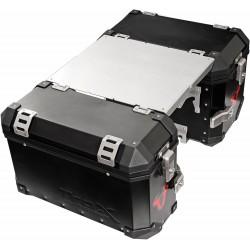 Aluminiowy stół mocowany do kufrów bocznych SW-MOTECH TRAX ALU