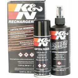 Zestaw pięlęgnacyjny do filtów powietrza K&N