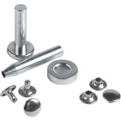 Zestaw nitów 9 mm z narzędziami montażowymi