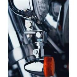 Mocowanie motocyklowe kierunkowskazów LOUIS do stelaża dodatkowych reflektorów