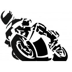 """Naklejka motocyklowa """"MOTOCYKLISTA"""""""