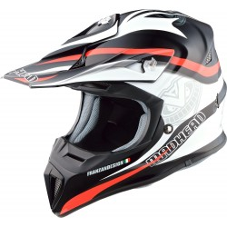 Kask motocyklowy crossowy MADHEAD FIBER-MEX ULTRA
