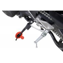 Podkładka pod nóżkę motocyklową LOUIS czerwona