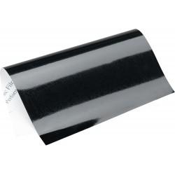 Samoprzylepna folia odblaskowa czarna na motocykl