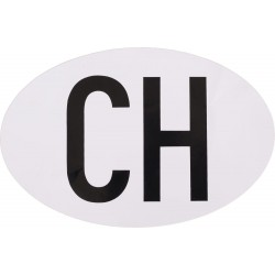 Naklejka z emblematem CH