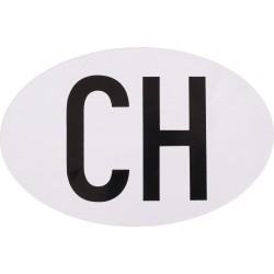 Owalny emblemat CH dla motocyklisty