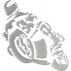 Naklejka motocykl MINI 3D dla motocyklisty
