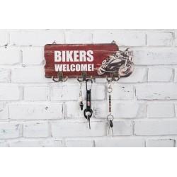 Wieszak motocyklowy na klucze RETRO