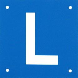 Znak L do nauki jazdy na motocyklu LOUIS