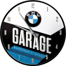 Zegar ścienny dla motocyklisty BMW GARAGE, 31cm