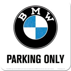 """Podstawka pod kubek BMW """"PARKING ONLY"""" dla motocyklisty"""