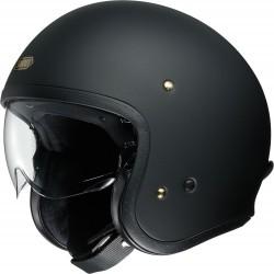 Kask motocyklowy otwarty SHOEI J.O czarny mat