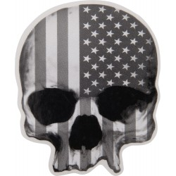 Naklejka Lethal Threat SKULL USA mini