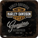 Podstawka pod kubek dla motocyklisty Harley Davidson Coasters Genuine
