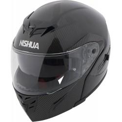 Kask motocyklowy szczękowy NISHUA NFX-2 CARBON FLIPUP