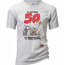 Koszulka motocyklowa MOTOMANIA UEBER 50