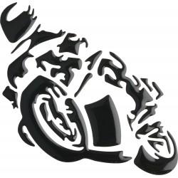 Naklejka z motywem motocyklowym 3D
