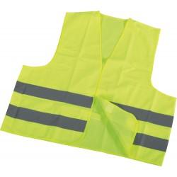 Kamizelka odblaskowa dla motocyklisty żółta Neon