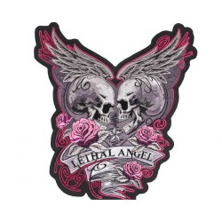 Naszywka Lethal Angel dla motocyklisty