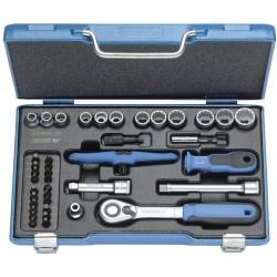Zestaw kluczy nasadowych GEDORE 37-częściowy