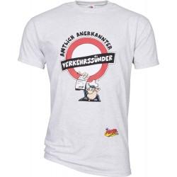 T-Shirt dla motocyklisty Motomania Verkehrsünder